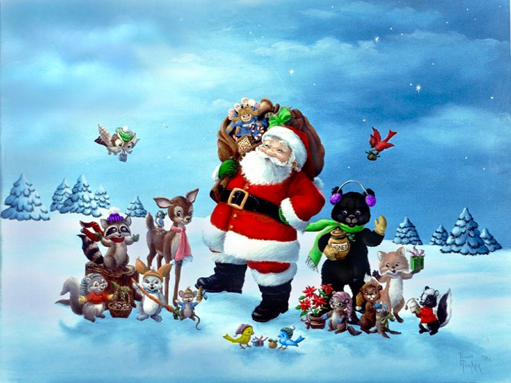 christmas santa wallpapers free 2017 - Grasscloth Wallpaper
