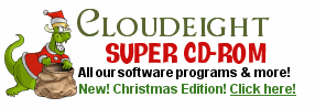 Cloudeight Super CD-ROM 2007 - Christmas Edition