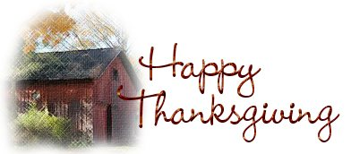 Happy Thanksgiving from Cloudeight Stationery