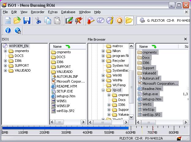 Slipstreaming Windows XP Service Packs