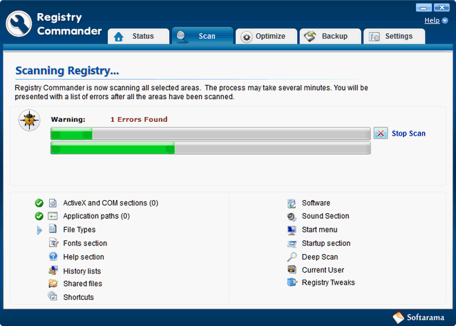 Registry Commander - Cloudeight Internet review