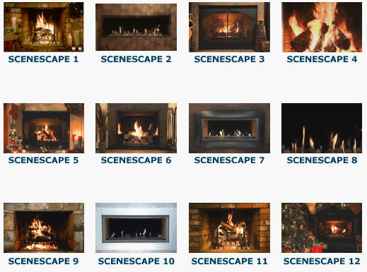 LIVING FIREPLACE SCENES
