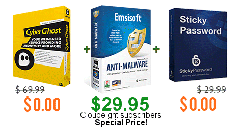 Emisoft and Cloudeight -- The war against malware just turned in our favor