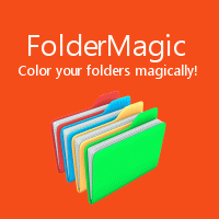 Color your folders magically with FolderMagic by Cloudeight