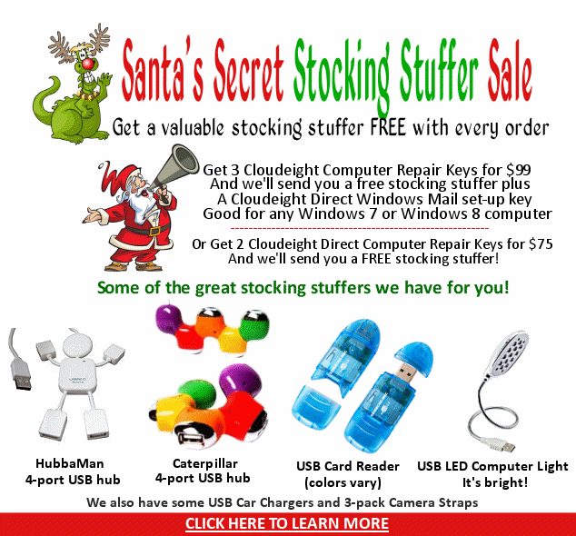 Santa's Secret Stocking Stuffer Giveaway