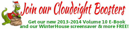 Be a Cloudeight Booster and get stuff free!