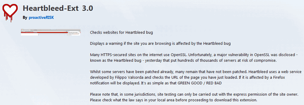 Heartbleed: Two Browser Extensions That Can Help You