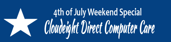 Cloudeight Direct 4th of July 2015 sale