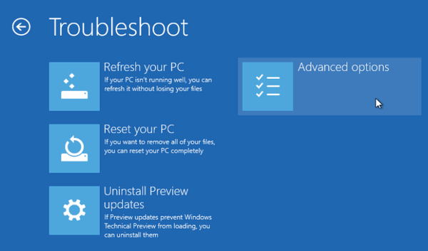 Easy Way to Get to Advanced Start Up Options in Windows 8.x and ...