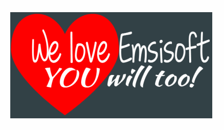 We love Emsisoft and So Will You (Cloudeight Internet)