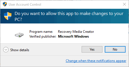 how to make a windows 10 recovery usb