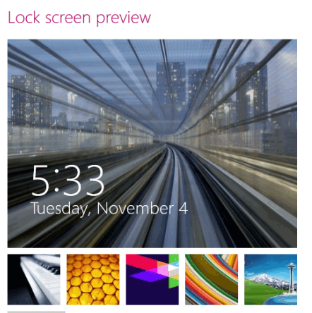 how to change the position of clock on lock screen