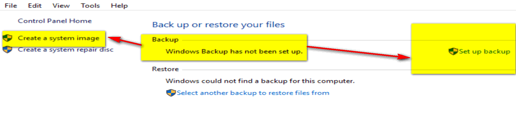 how to backup win 10