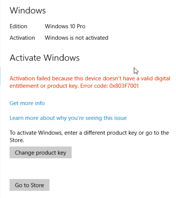 how to  windows 10 if you have a product key