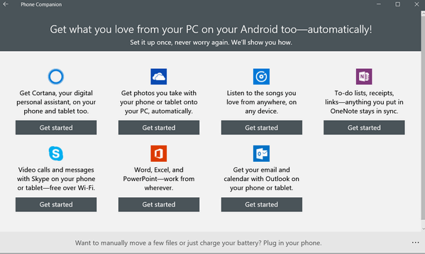 Get Your Favorite Windows 10 Features on Your Android or