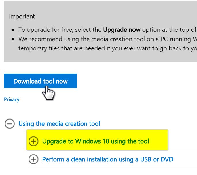 download windows 10 clean install usb