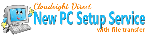 Cloudeight Direct New PC Setup with file transfer
