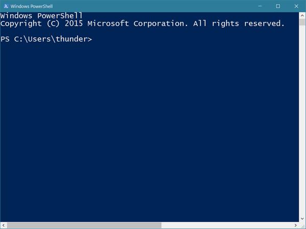 windows command line essays