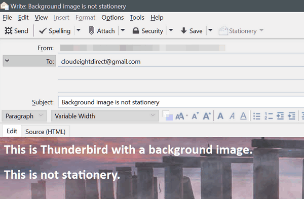 Cloudeight Direct Thunderbird Email tips