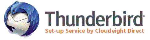 Cloudeight Internet -Thunderbird Mail Set-up Service