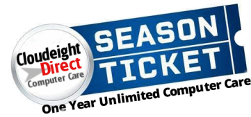Cloudeight Direct Sesaon Ticket
