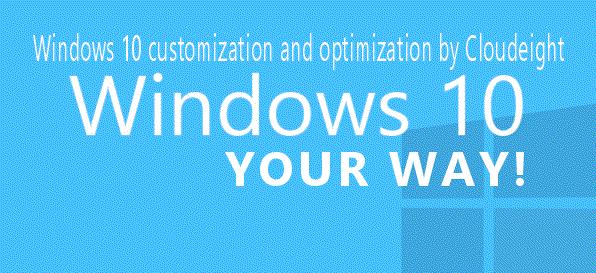 Windows 10 Your Way