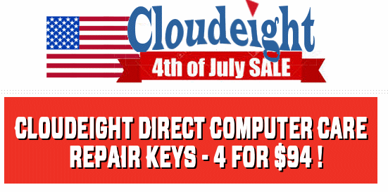 Cloudeight 4th of July Sale!
