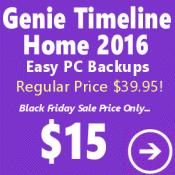 Genie Timeline Home Black Friday Sale
