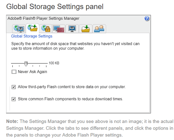 How to clear your Adobe Flash Player cache and history – Cloudeight