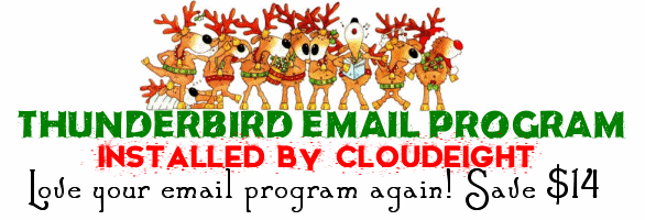 Cloudeight Thunderbird Email Installation Christmas Special