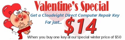 Cloudeight Direct Computer Care Valentine's Sale