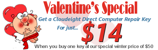 Cloudeight Direct Computer Care Valentines Extravaganza