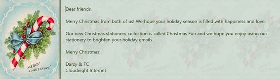 Cloudeight Christmas Stationery & Specials Christmas Fun