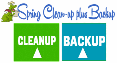 Cloudeight 2018 Spring Cleanup & Backup
