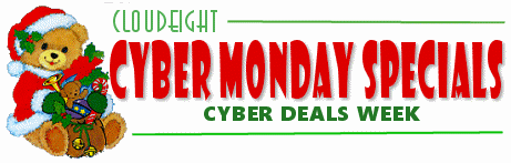 Cloudeight Cyber Monday Deals Week
