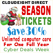 Cloudeight Direct Season Tickets