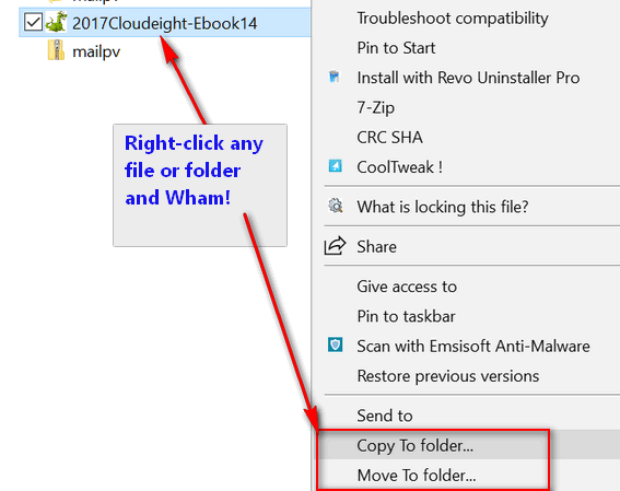 Cloudeight InfoAve Windows tips & tricks