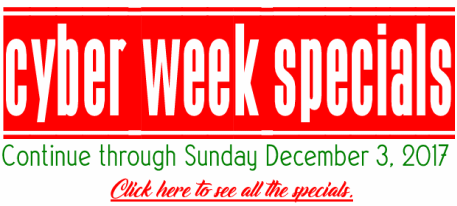 Cloudeight Cyber Week Special Offers