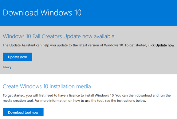 Windows 10 Fall Creators Update - Cloudeight InfoAve
