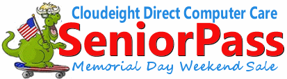 Cloudeight Memorial Day Weekend Sale 2018 SeniorPass