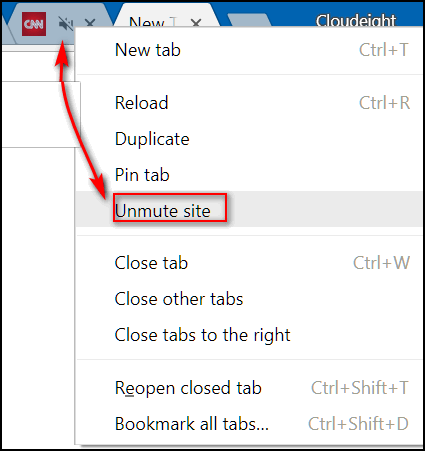 Cloudeight Chrome Tips