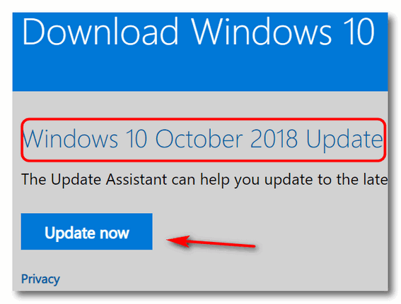 Download Windows 10 Update Assistant - Cloudeight Windows 10 Tips
