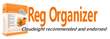 Reg Organizer: Cloudeight recommended and endorsed.