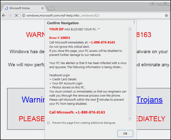 New Tech Support Scam Affects Chrome & Firefox users