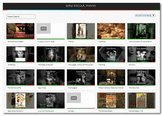 Cloudeight Site Pick - Zero Dollar Movies