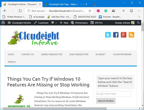 Cloudeight InfoAve Edge Dev