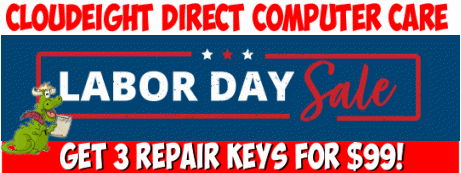 Cloudceight Direct Labor Day Sale