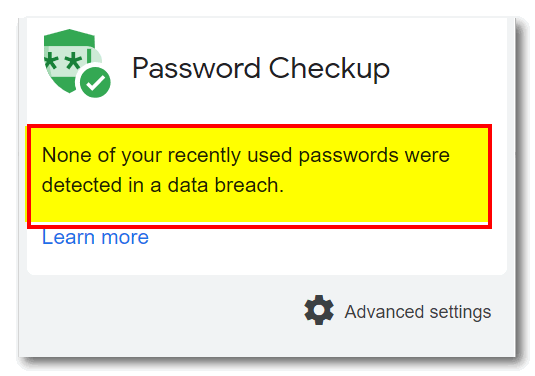 Cloudeight InfoAve Freeware Pick - Password Checkup for Chrome