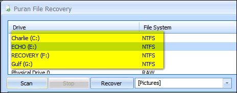 Cloudeight Freeware Pick - Puran File Recovery