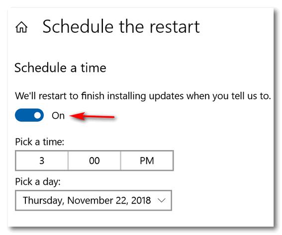 Windows 10 Restarts